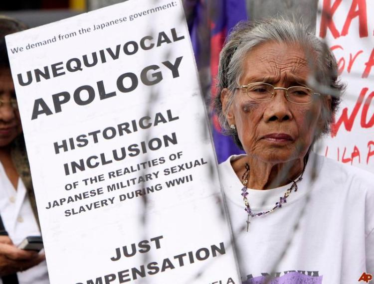 'Comfort Women' Demand An Apology